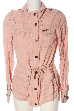 Khujo Veste mi-saison rose style décontracté