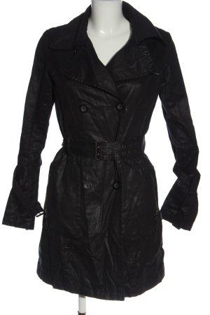 Khujo Płaszcz przejściowy czarny W stylu casual