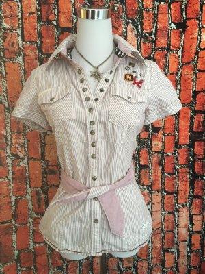Khujo Vintage Bluse Gr S 36 wie neu