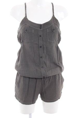 Khujo Vintage Jumpsuit graubraun schlichter Stil