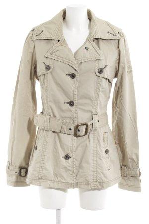 Khujo Vintage Übergangsjacke beige-bronzefarben Street-Fashion-Look