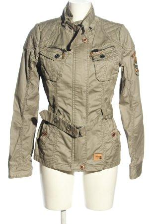 Khujo Vintage Übergangsjacke khaki Casual-Look