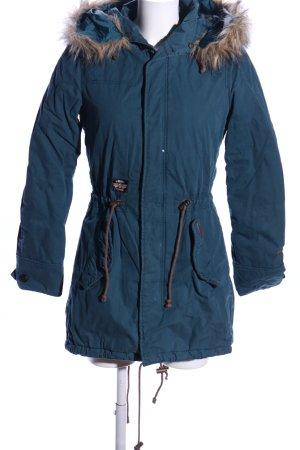 Khujo Winterjacke blau Casual-Look