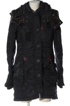Khujo Kurtka zimowa czarny W stylu casual