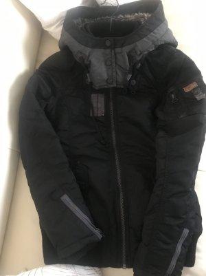 Khujo Giacca bomber nero