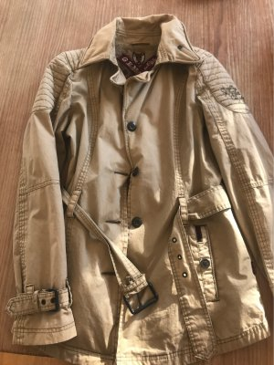 Khujo Long Jacket oatmeal