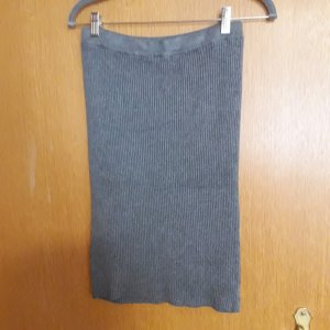 Kiabi Woman Knitted Skirt grey viscose
