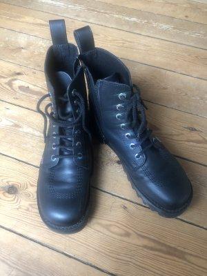 Kickers Chukka boot noir cuir