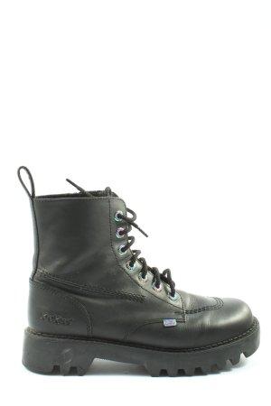 Kickers Desert Boots khaki casual look