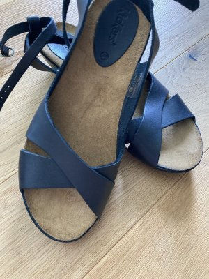 Kickers Wedge Sandals black