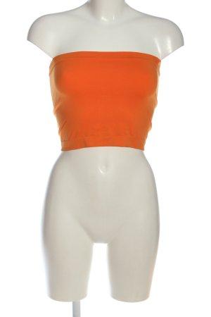 Kidneykaren Bandeau top licht Oranje casual uitstraling