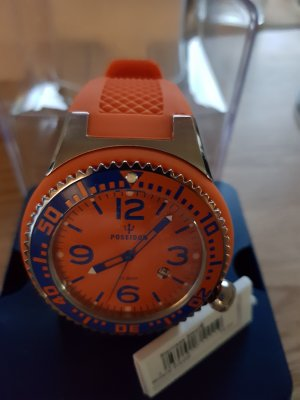 Kienzle Poseidon Orange - Blau  NEU ungetragen