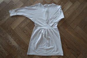 Mint&berry Robe courte gris clair coton