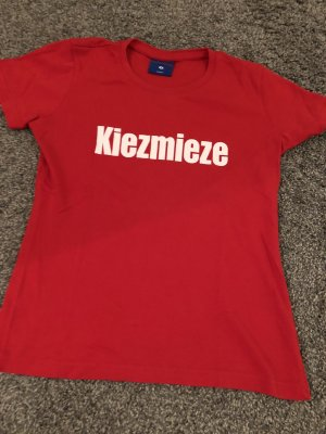 Vintage T-shirt czerwony
