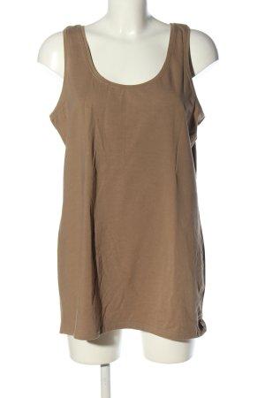 Kik Basic Top brown casual look