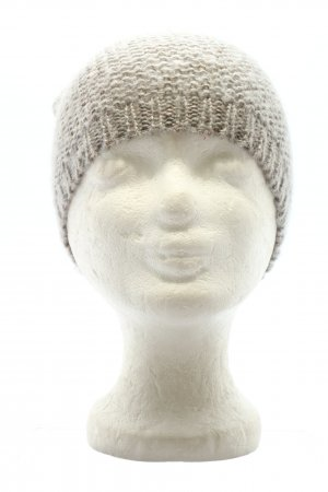 Kik Beanie natural white cable stitch casual look