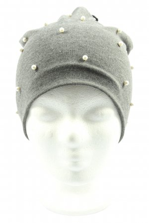 Kik Knitted Hat light grey flecked casual look