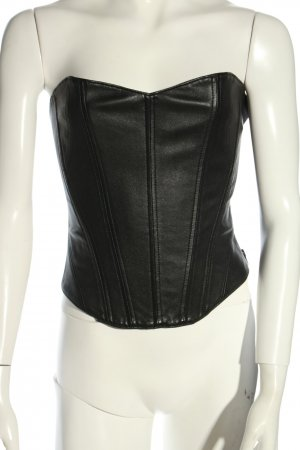 Kiki de montparnasse Haut type corsage noir style extravagant
