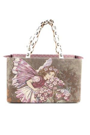 kiki haupt Handtasche Blumenmuster extravaganter Stil