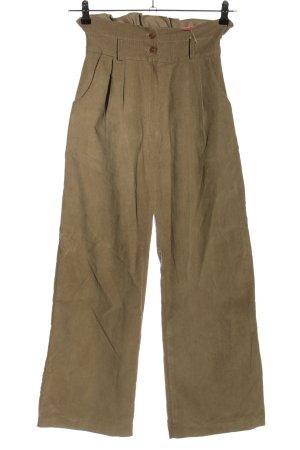 kiki love Corduroy Trousers brown casual look