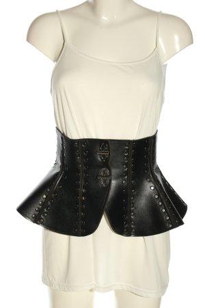 Kikiriki Corsé negro estilo extravagante