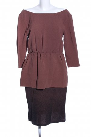 Kilian Kerner Senses A-Linien Kleid braun-schwarz Elegant
