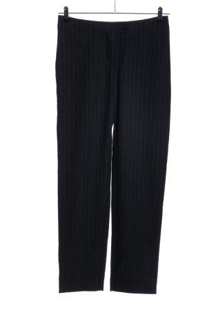 Kilian kerner Jersey Pants black striped pattern business style