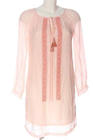 Kilibbi Tunic Dress embroidered lettering casual look