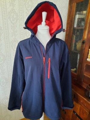 Kilimanjaro Adventure Chaqueta con capucha rojo-azul oscuro Poliéster