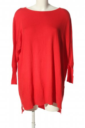 kilky Oversized Pullover rot Casual-Look