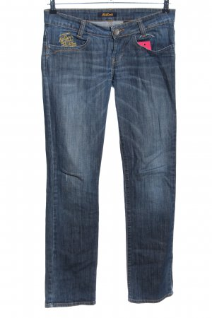 Killah Boot Cut Jeans blau Casual-Look