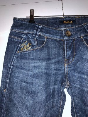 Killah Jeans taille basse bleu
