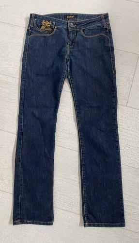 Killah Damen Jeans Rag Flake dunkelblau Größe 27 Top