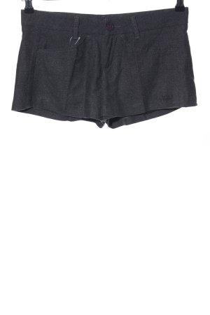 Killah Jupes-culottes noir moucheté style décontracté