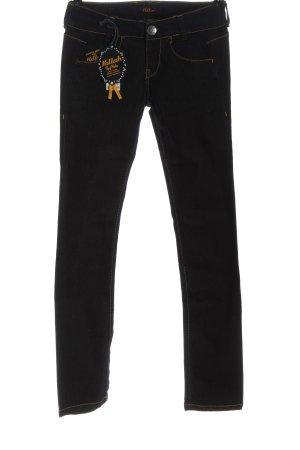 Killah Low Rise Jeans black casual look