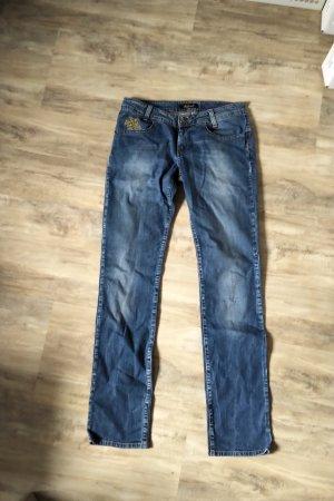 Killah Jeansy z prostymi nogawkami niebieski