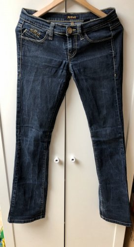 Miss Sixty Jeans svasati grigio ardesia-blu scuro