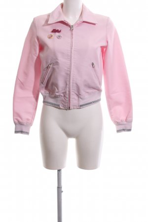 Killah Kurzjacke pink-silberfarben Casual-Look