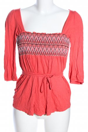 Killah Langarm-Bluse rot Casual-Look