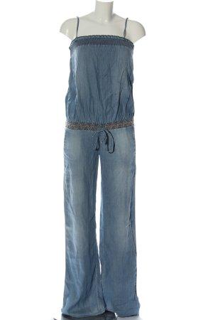 Killah Langer Jumpsuit blue casual look