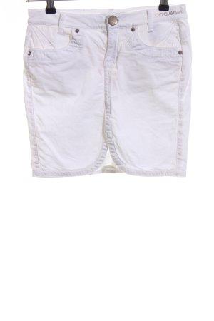 Killah Mini-jupe blanc style décontracté