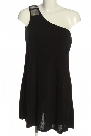Killah One-Shoulder-Kleid schwarz Elegant