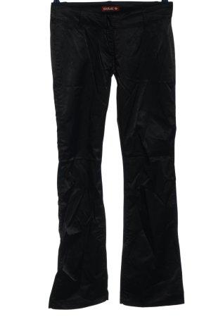 Killah Pantalon pattes d'éléphant noir style décontracté