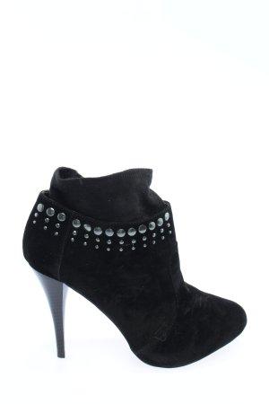 Killah Wciągane buty za kostkę czarny W stylu casual