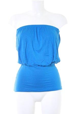 Killah schulterfreies Top blau Casual-Look
