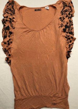 Killah - Shirt orange /schwarz Größe XS