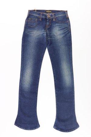 Killah Skinny Jeans blue-neon blue-dark blue-azure cotton