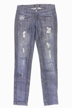 Killah Skinny Jeans Größe W28 blau