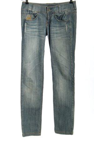 """Killah Jeansy z prostymi nogawkami """"Style Ebel"""" niebieski"""