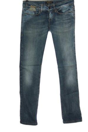 Killah Jeansy z prostymi nogawkami niebieski W stylu casual